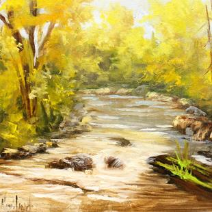 Art: San Juan River by Artist Barbara Haviland