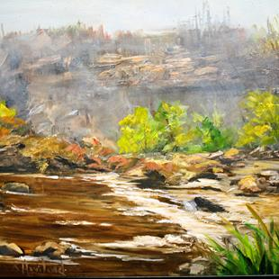 Art: San Juan Riverbed by Artist Barbara Haviland