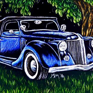 Art: Roadster  (SOLD) by Artist Monique Morin Matson