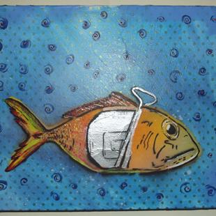 Art: Can Tuna by Artist Paul Lake, Lucky Studios