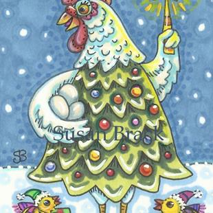 Art: EGGS FIRST CHRISTMAS by Artist Susan Brack