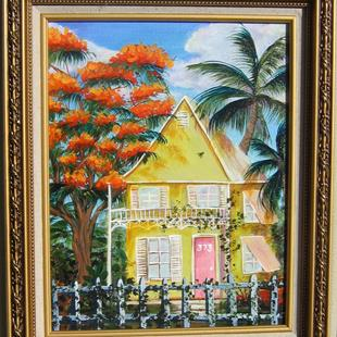 Art: Key West House by Artist Ke Robinson