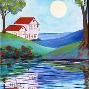 Art: Water Views by Artist Ke Robinson