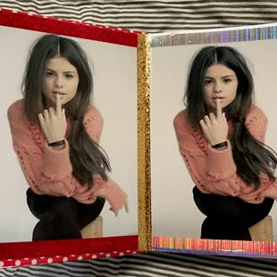 Art: Selena Gomez of Art Book!! by Artist William Powell Brukner