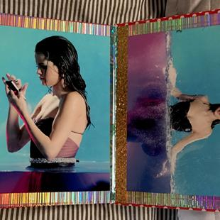 Art: More Selena Gomez Book Art. by Artist William Powell Brukner