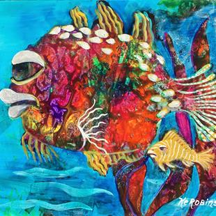 Art: Caribbean Fish #1634 by Artist Ke Robinson