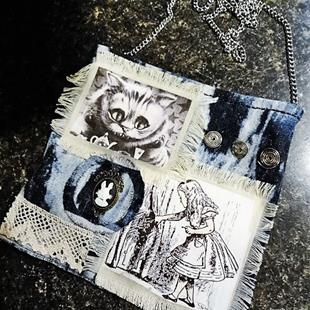 Art: Steampunk Purse #16 (SOLD) by Artist Vicky Helms