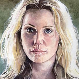 Art: Saga (Sofia Helin) by Artist Mark Satchwill