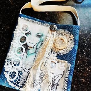 Art: Boho Purse #6 by Artist Vicky Helms