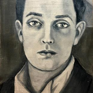 Art: Buster Keaton by Artist Patience