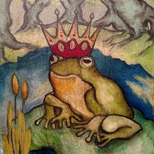 Art: The Frog Prince by Artist Chris Jeanguenat