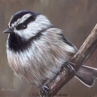 Art: Mountain Chickadee No 2 by Artist Janet M Graham