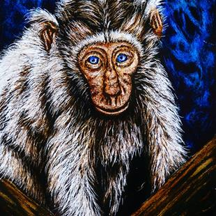 Art: Phillip  (SOLD) by Artist Monique Morin Matson
