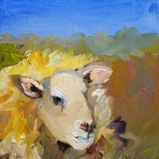 Art: Wooly Sheep by Artist Delilah Smith