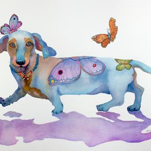 Art: BUTTERFLY DOXIE DOO by Artist Marcia Baldwin