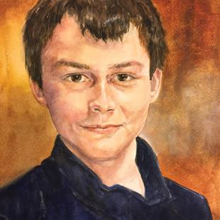 Art: Daniel by Artist Catherine Darling Hostetter