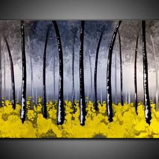 Art: YELLOW WOOD by Artist Kate Challinor