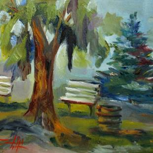 Art: In the Shade by Artist Delilah Smith