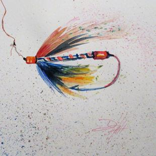 Art: Fishing Lure No.2 by Artist Delilah Smith