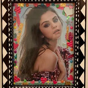 Art: THE GORGEOUSNESS OF ~SELENA GORGEOUS GOMEZ. by Artist William Powell Brukner