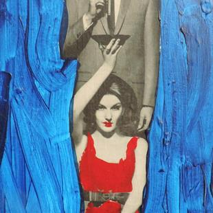 Art: switching to cigars by Artist Nancy Denommee