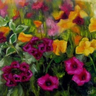 Art: Midsummer Blooms by Artist Christine E. S. Code ~CES~