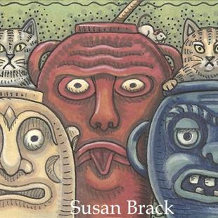 Art: MAKE A FACE by Artist Susan Brack