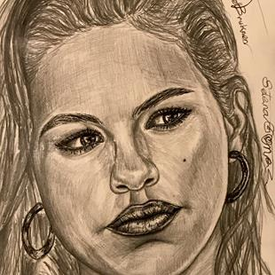 Art: ~.SELENA GORGEOUS GOMEZ.~ by Artist William Powell Brukner
