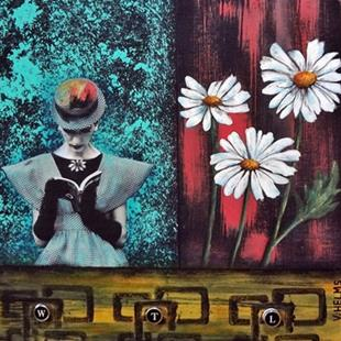 Art: Daisy May (SOLD) by Artist Vicky Helms