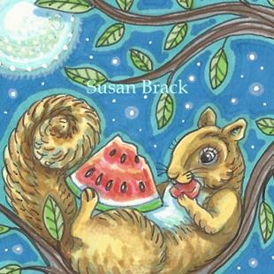 Art: LATE NIGHT SNACK by Artist Susan Brack