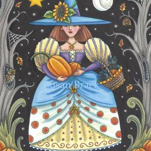 Art: WITCH IN THE WOODS by Artist Susan Brack