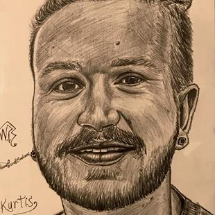 Art: KURTIS. by Artist William Powell Brukner
