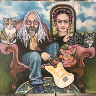 Art: Still, Life, Featuring J.Mascis and Frida Kahlo by Artist Patience