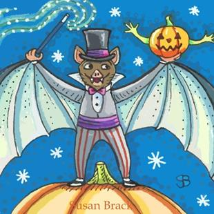 Art: BAT MAGIC by Artist Susan Brack