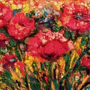 Art: Flowers of Spring  - sold by Artist Ulrike 'Ricky' Martin