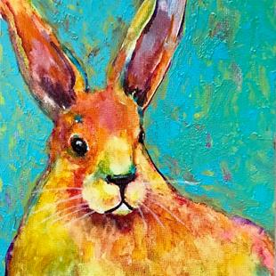 Art: Bunny Rabbit - sold by Artist Ulrike 'Ricky' Martin