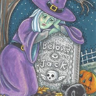 Art: FAREWELL TO JACK by Artist Susan Brack
