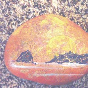 Art: Vancouver rocks by Artist Leonard G. Collins
