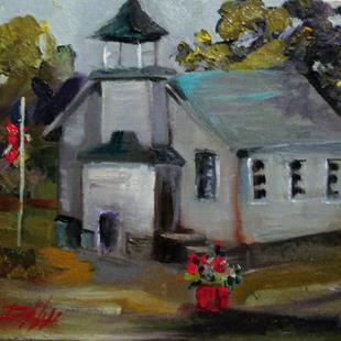 Art: Country School by Artist Delilah Smith