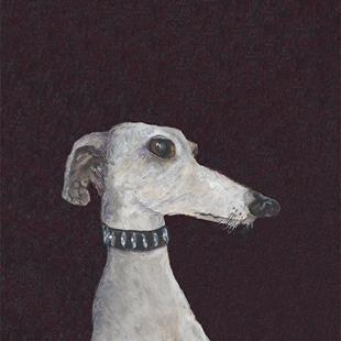 Art: GREYHOUND gac by Artist Dawn Barker