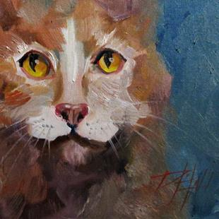 Art: Cat No. 3 by Artist Delilah Smith