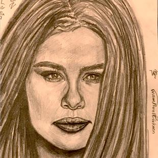 Art: ~Gorgeous Selena Gomez, The Perfectly Beautiful Lady~ by Artist William Powell Brukner