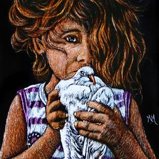 Art: Peace Offering  (SOLD) by Artist Monique Morin Matson