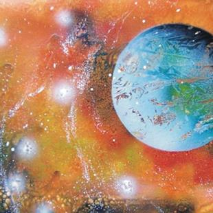 Art: Spray Paint Art by Leonard G. Collins by Artist Leonard G. Collins