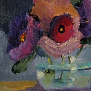 Art: Floral Still Life No.5 by Artist Delilah Smith