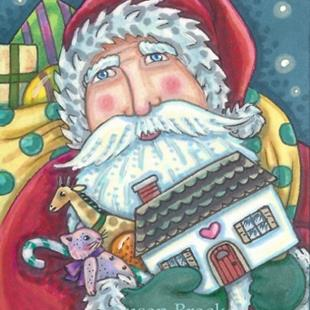 Art: GIFTS FROM ST. NICK by Artist Susan Brack
