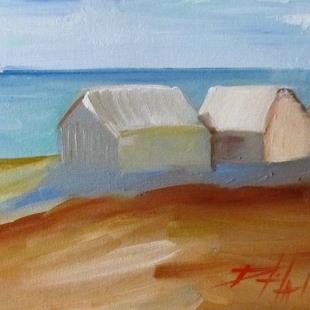 Art: Beach Town by Artist Delilah Smith