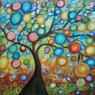 Art: OLIVE TREE.. by Artist LUIZA VIZOLI