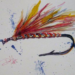 Art: Fishing Lure No. 3 by Artist Delilah Smith