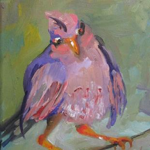 Art: Rosefinch by Artist Delilah Smith